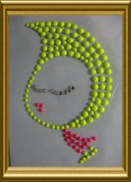 Bügelbild reflektierendes Kindermotiv 20102629