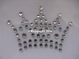 Strass Bügelbilder Krone Krönchen Crystal 111207