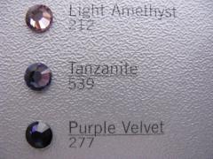 Swarovski Elements  SS10 Tanzanite