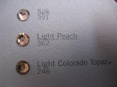 Swarovski Elements SS10 Light Peach