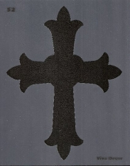 Textil Schablone Nr. 52