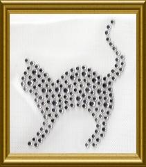 Kleines Strass Katze Kätzchen Crystal 170420