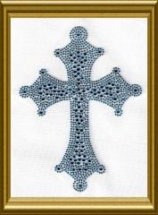 großes Kreuz Türkis