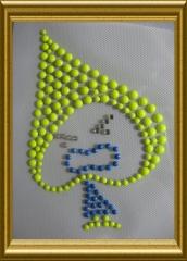 Bügelbild reflektierendes Kindermotiv 20102630