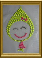 Bügelbild reflektierendes Kindermotiv 20102631