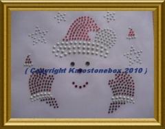 Bügelbild Santa Weihnachtsmann 101108