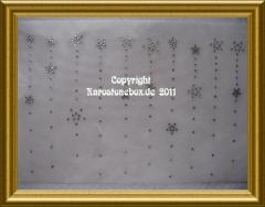 Sternenhimmel Strass Bügelmotiv 110316