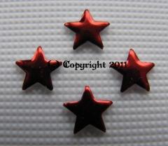100 Formen Stern Rot 5mm zum aufbügeln