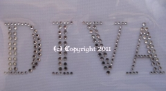 Hotfix Strass Bügelbilder DIVA 110623 Karostonebox