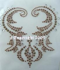 Edles Ornament Creme  081870-01da