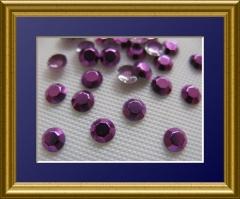 1440   Studs 2mm Dark Purple