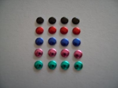 1440   Nailhaeds 3mm Pink