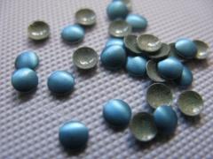1440   Nailhead 3 mm Blau Matt