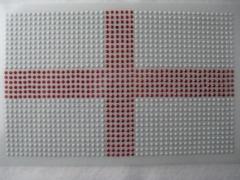 Bügelbild Fahne EM 2016 England Iron On groß 120216