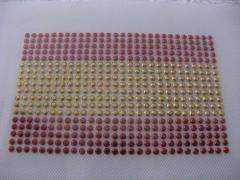 Hotfix Bügelbild Fußball Fahne EM 2012 Spanien klein 120511