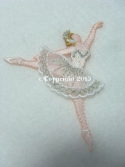 Applikation Hotfix Bügelbild Ballerina Patch 695721-A