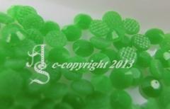 360 Hotfix Epoxy Steine zum aufbügeln Neon Grün SS6