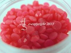 360 Hotfix Epoxy Steine zum aufbügeln Neon Pink SS6