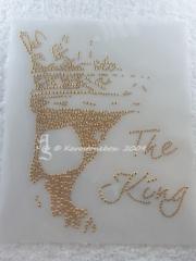 Bildbild Skull Metallstuds Totenkopf The King  Karostonebox 110515