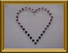 Bild Strass 6 kleine Herzen Farbwahl 101102