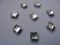 40   Strass-Formen Quadrat 4mm